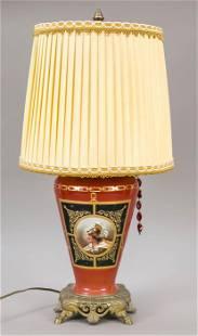 Historism lamp, 19th c., w. Fr