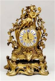 large french figural pendulum.
