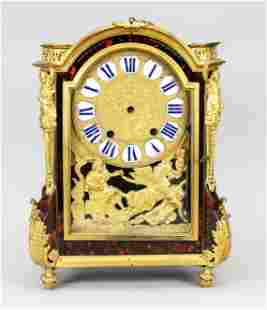French clock. Table clock, mar