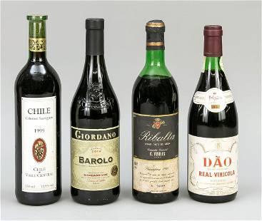 4 Bottles of red wine: 1 x 2014 B