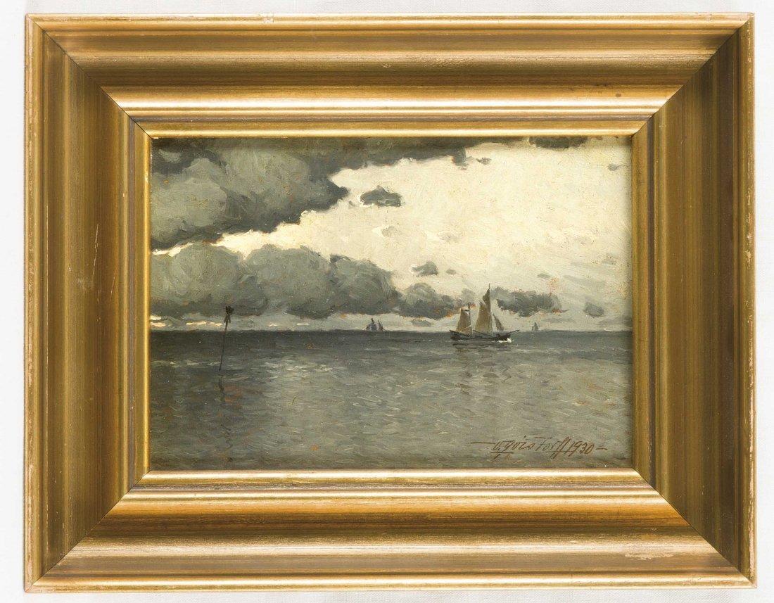 Viktor Quistorff (1883-1959), dänischer Marinemaler und