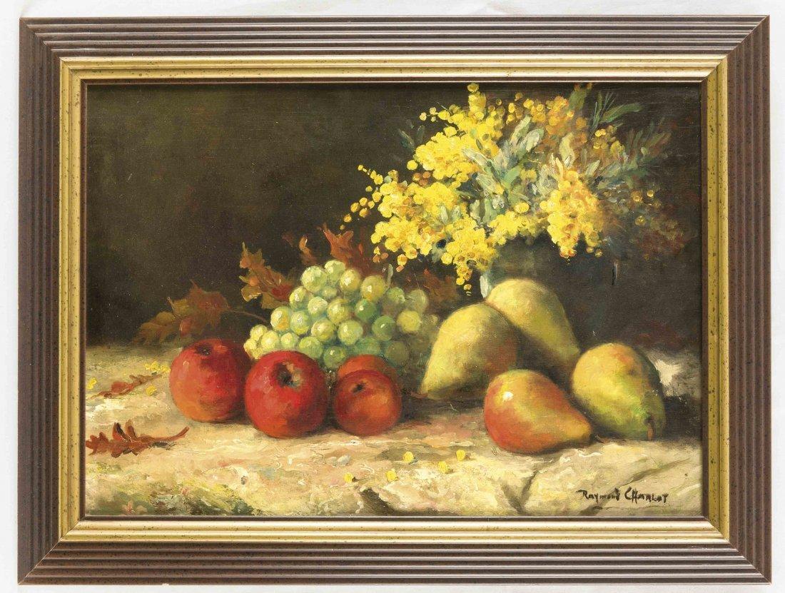 Raymond Charlat (*1879), englischer Stilllebenmaler,