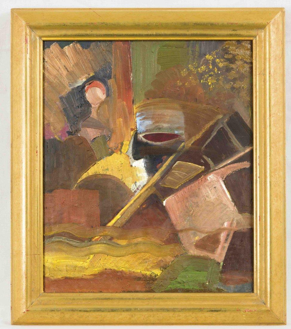 F. D. Bronnere (1904-1982), deutscher Maler des
