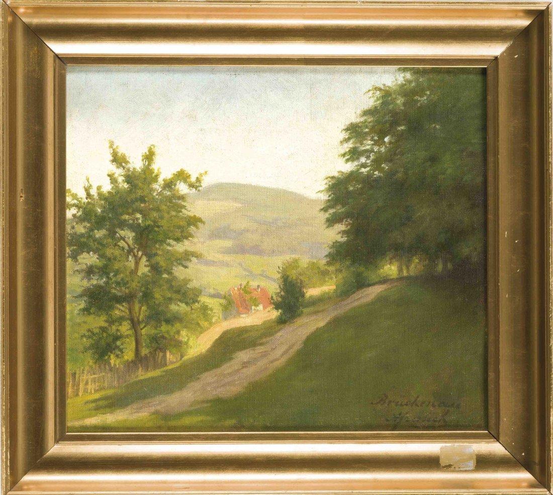 Sign. Bruckenau, Landschaftsmaler um 1940,