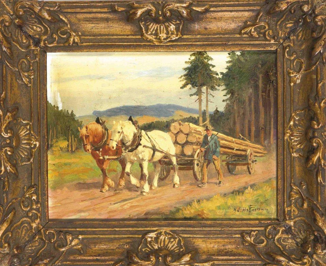 Hoffmann, Adolf, Wiener Landschafts- und Figurenmaler,