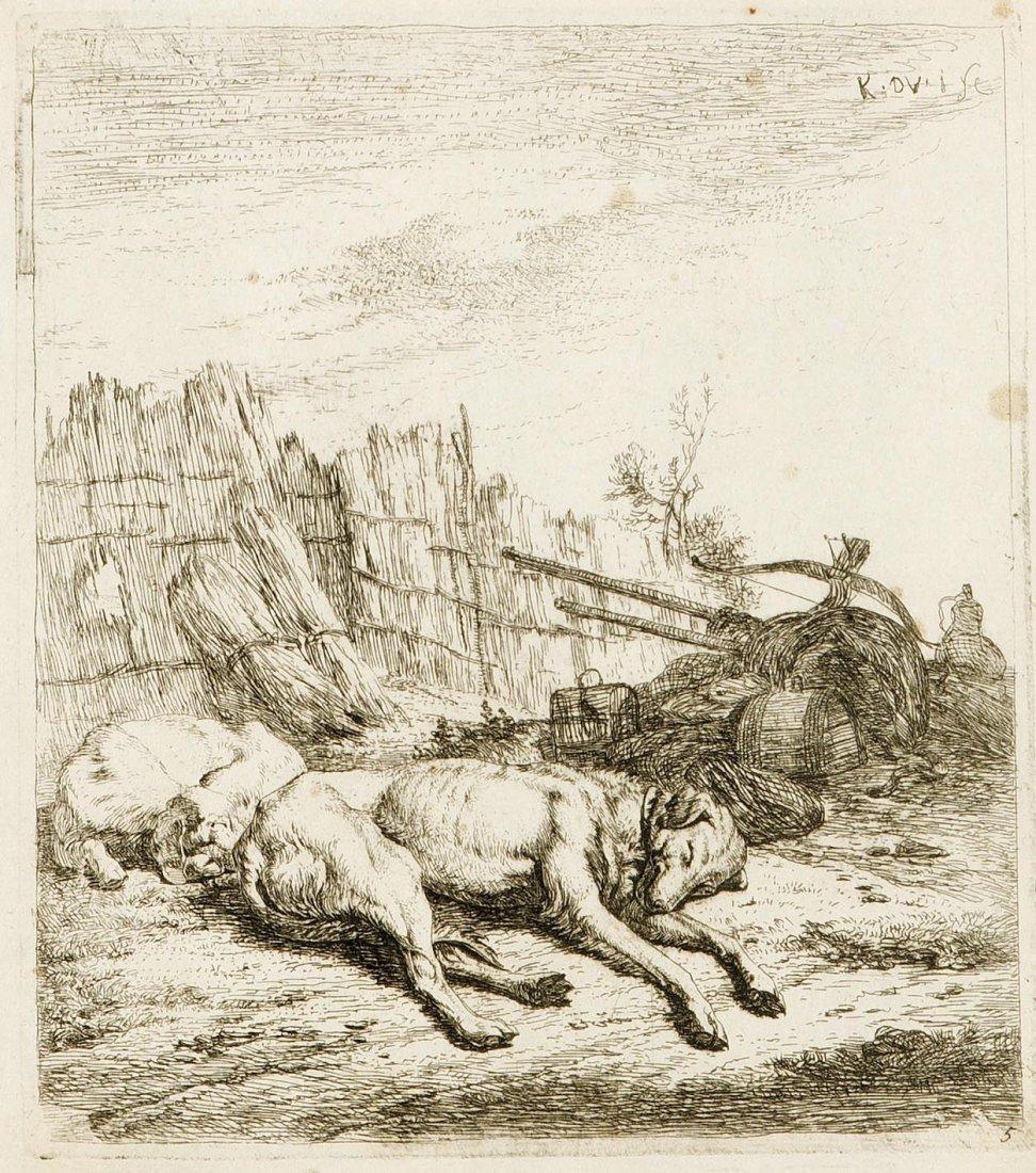 Karel Dujardin (1622 1678), Holländischer Maler Und