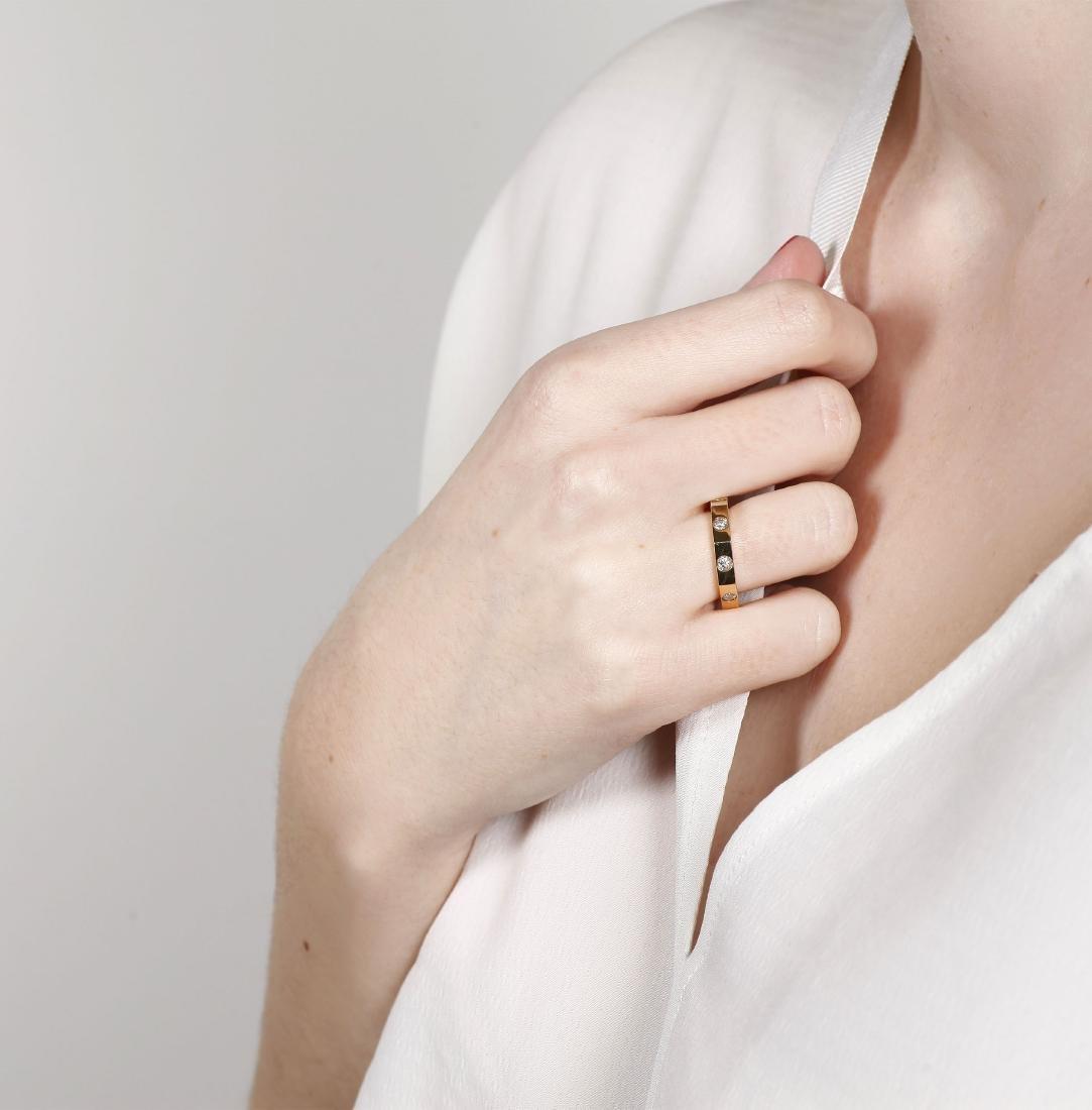 Puig Doria Diamonds ring Gold and brilliant cut - 2