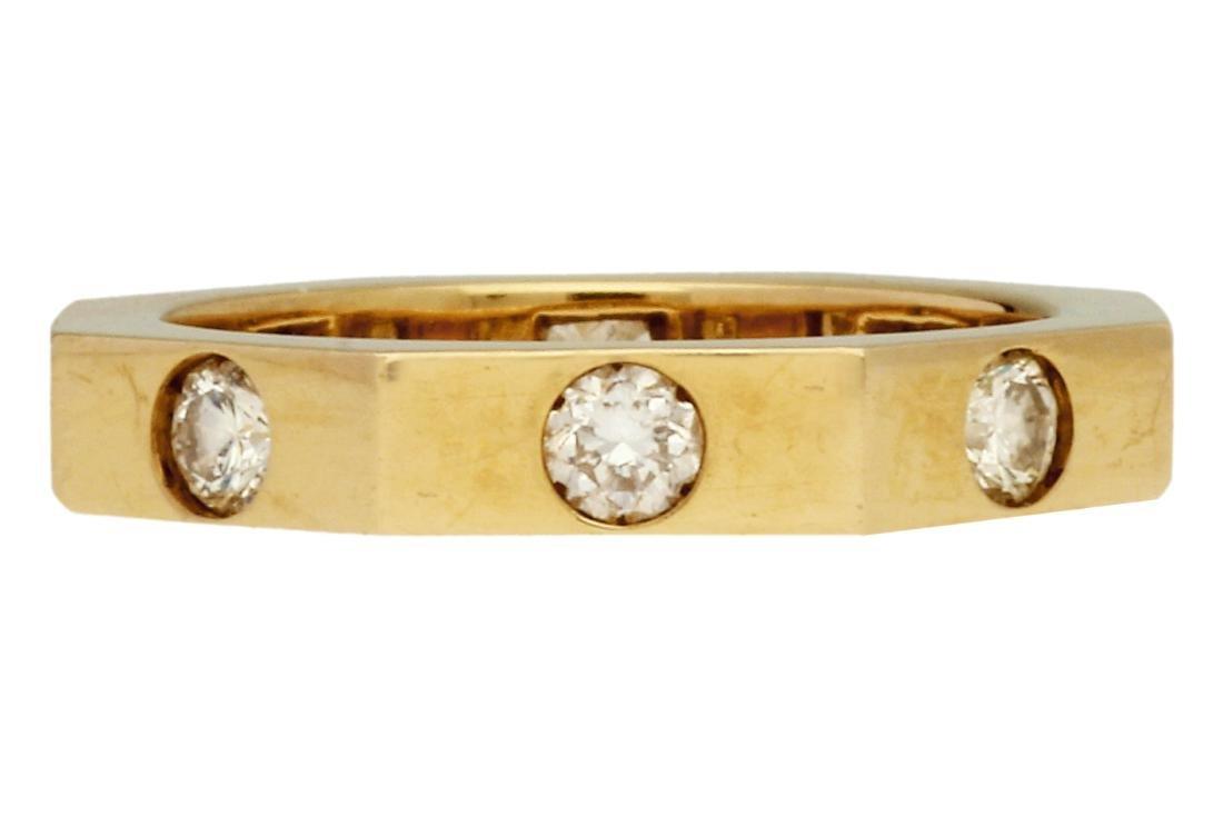 Puig Doria Diamonds ring Gold and brilliant cut
