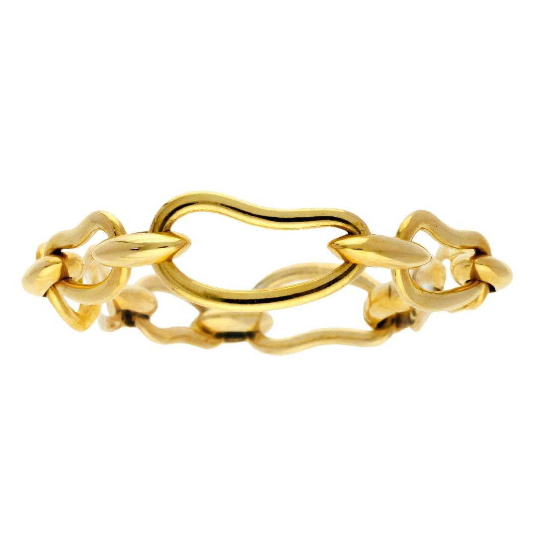 Pomellato Gold links bracelet Gold. Signed and