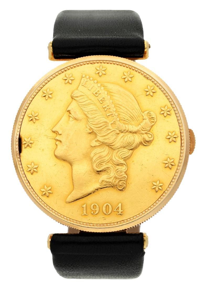 Corum Gold lady's wristwatch Movimiento: Manual winding