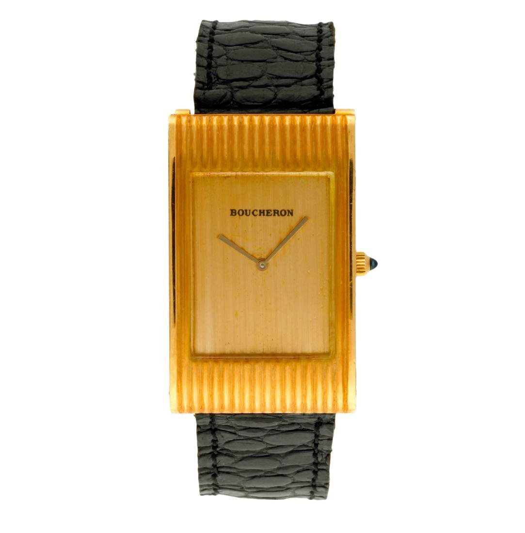 Boucheron Gold lady's wristwatch Movimiento: Quartz