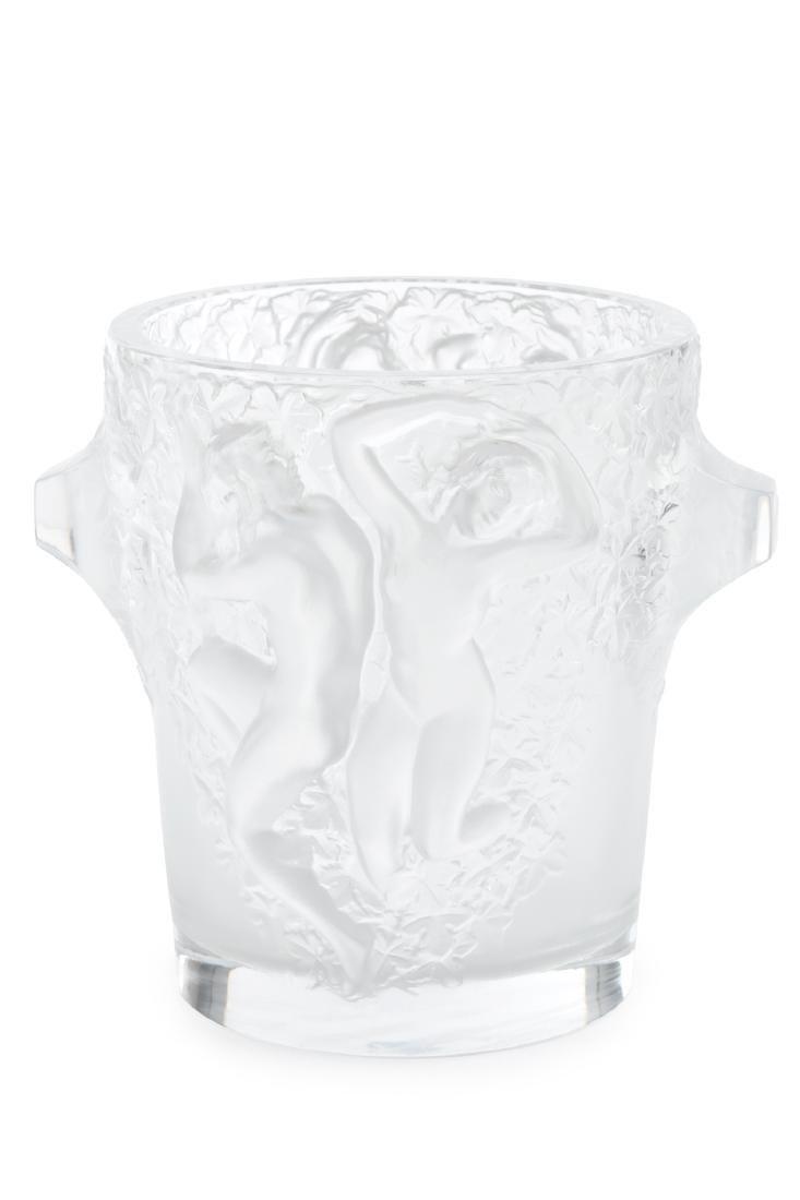 """Lalique manufacture Art Déco """"Ganimedes"""" champagne"""