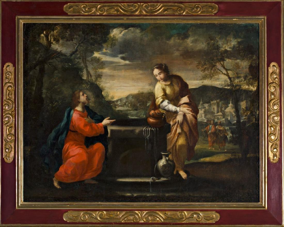 Spanish school, 17th Century Jesus Christ and the