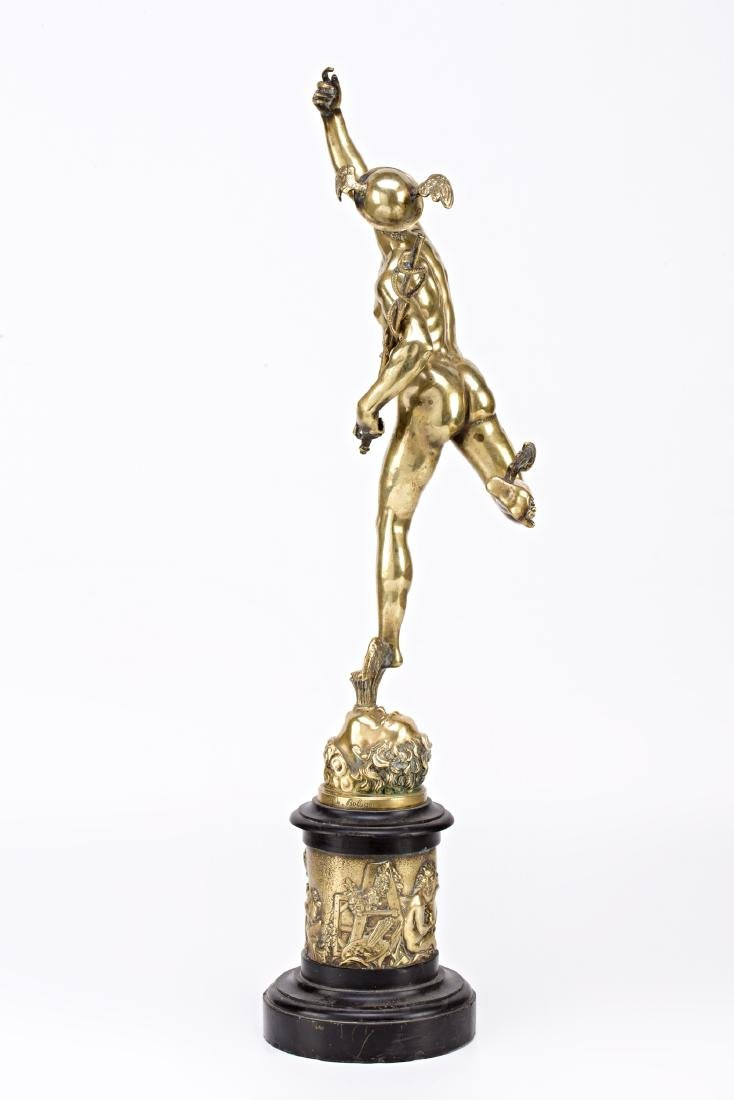 French school, early 20th Century  Mercury Gilt-bronze - 2