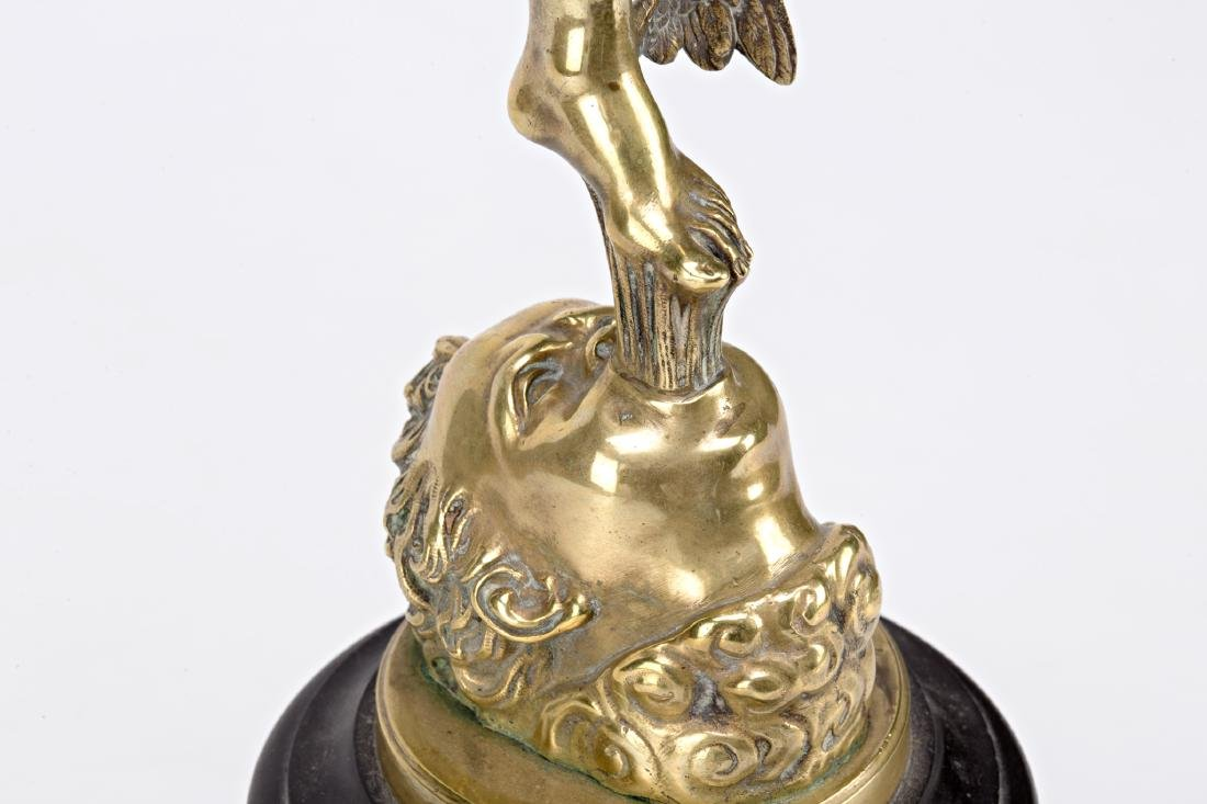 French school, early 20th Century  Mercury Gilt-bronze - 4