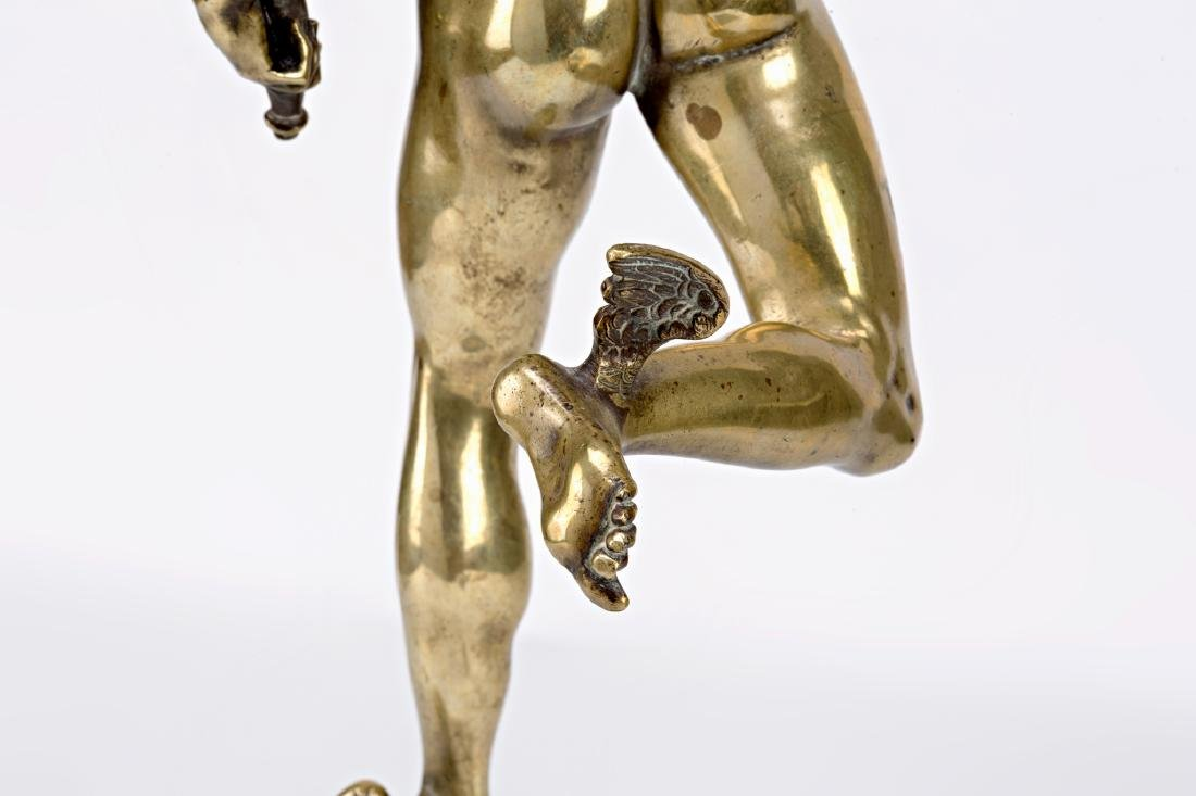 French school, early 20th Century  Mercury Gilt-bronze - 6