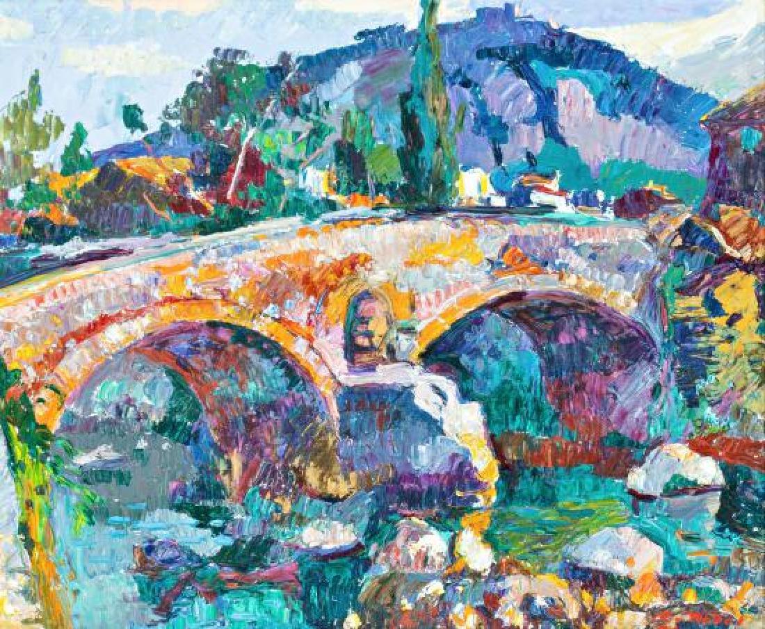 Ramon Nadal Palma de Mallorca 1913 - 1999  Bridge of