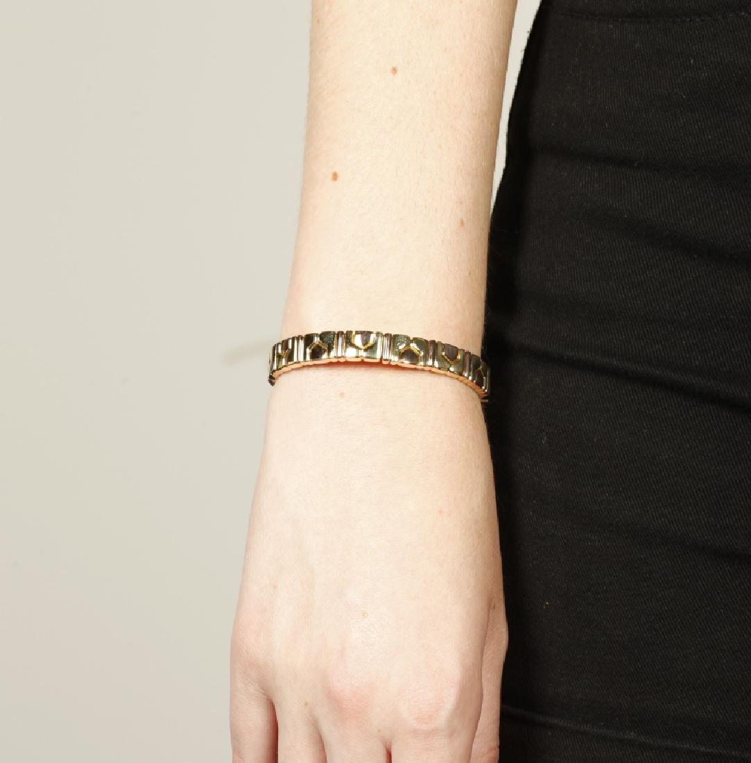 Bulgari, Gold and rose gold bracelet, circa 1980 - 2