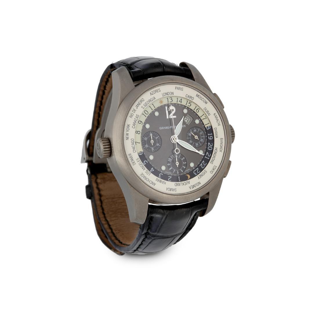 Girard-Perregaux, World Time Chronograph, Wristwatch