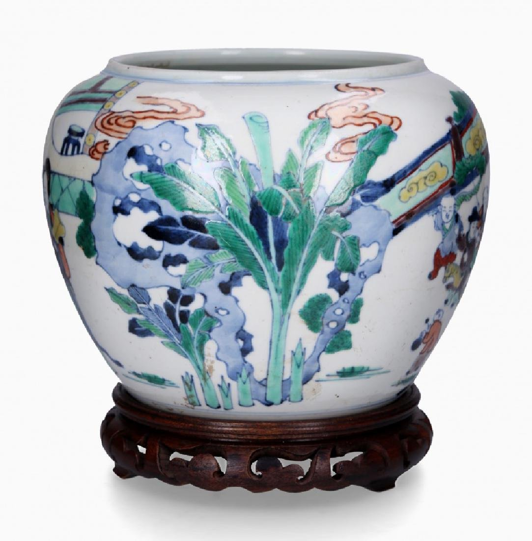 Chinese porcelain jardiniere, first third of the 20th - 2