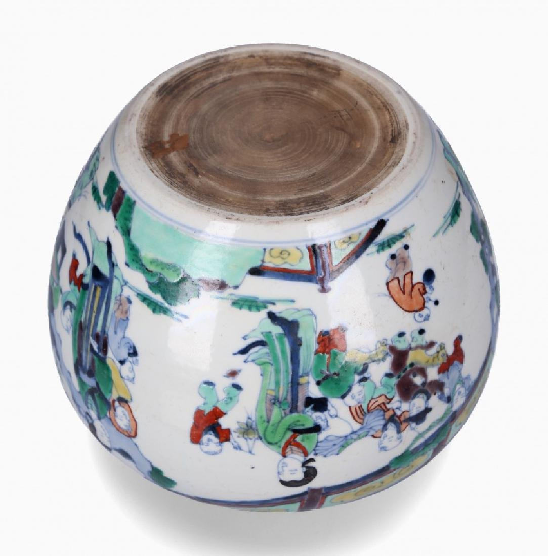 Chinese porcelain jardiniere, first third of the 20th - 3