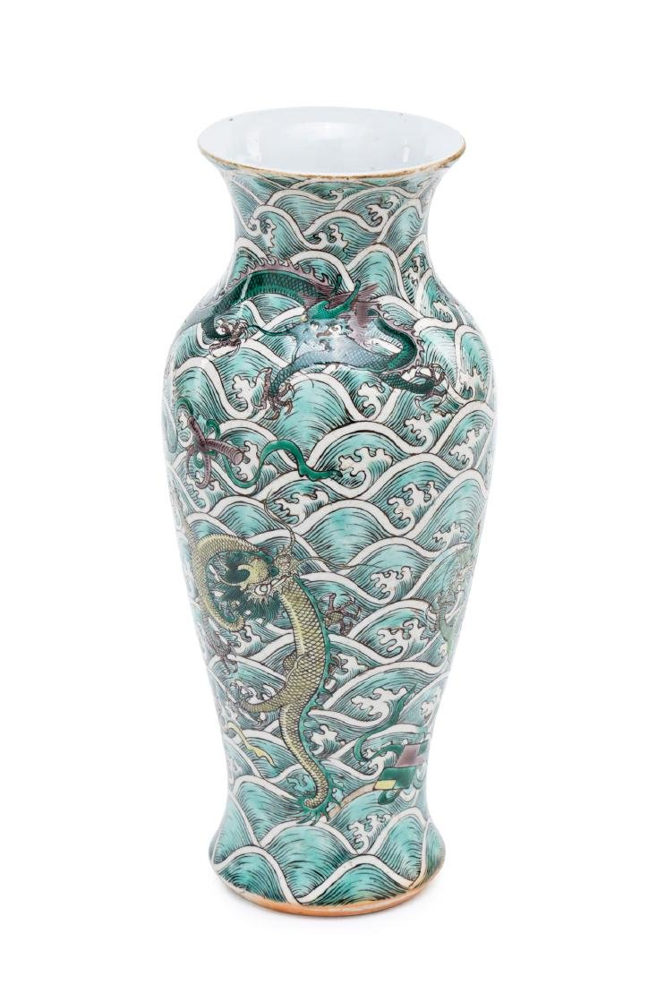 Chinese porcelain vase, first third of the 20th Century - 2