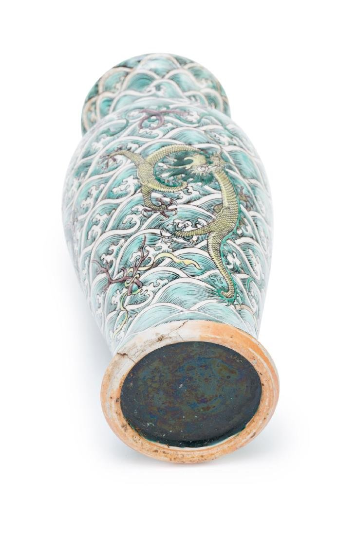 Chinese porcelain vase, first third of the 20th Century - 5