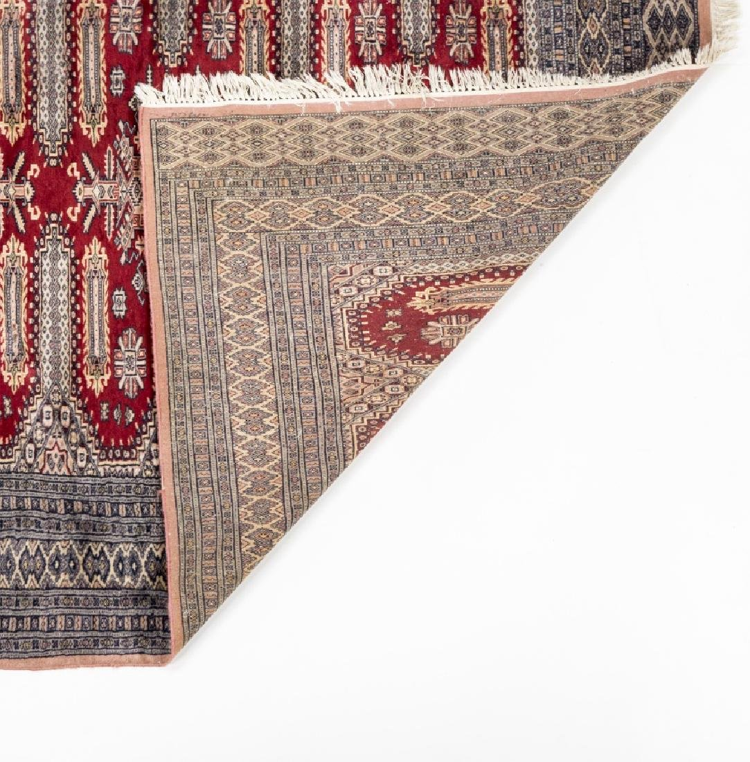Oriental carpet in wool and silk, second half of the