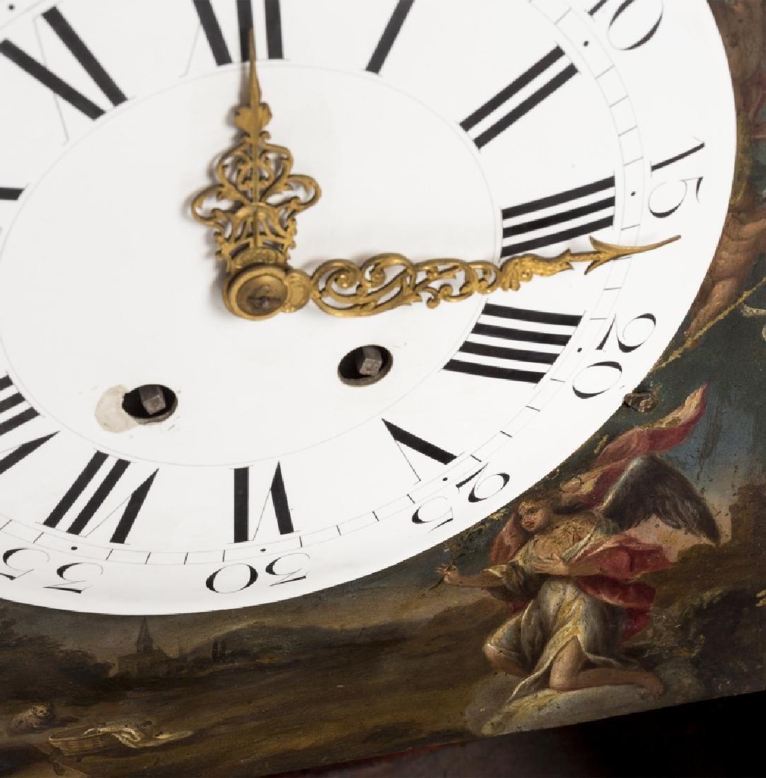 Italian table clock in tortoiseshell with Salomonic - 2