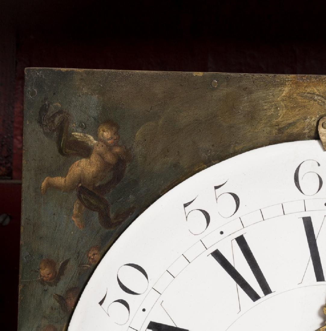 Italian table clock in tortoiseshell with Salomonic - 3