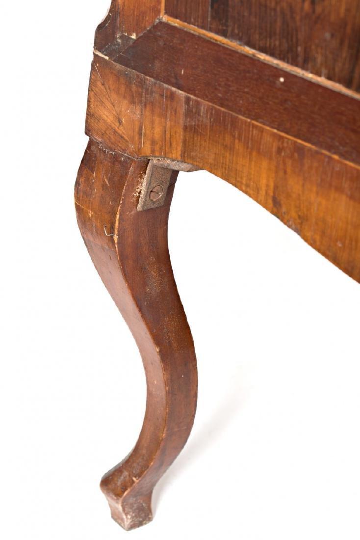 "Louis XV ""en penté"" bureau in rosewood, mahogany and - 8"