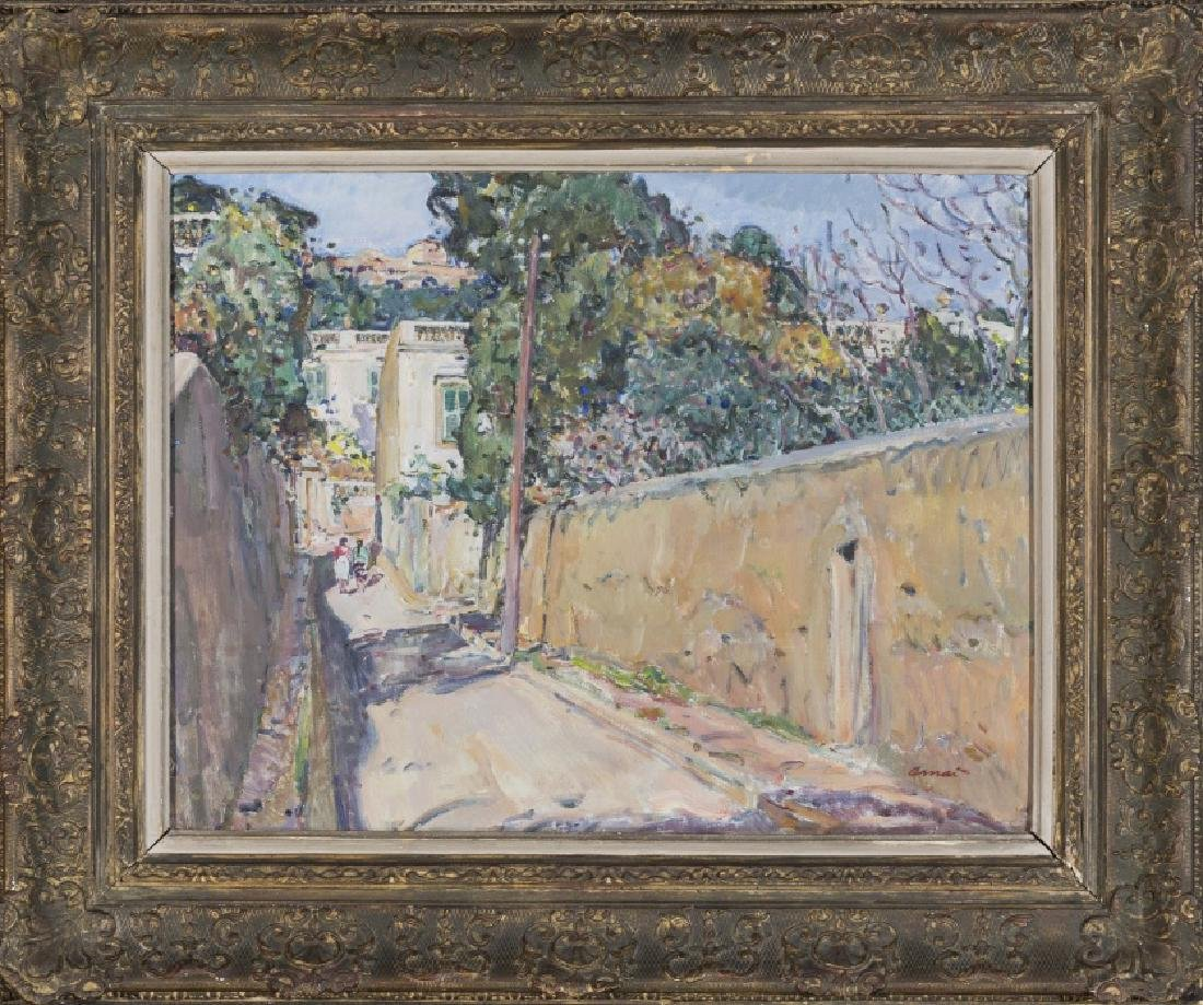 Josep Amat , View, probably of the upper part of
