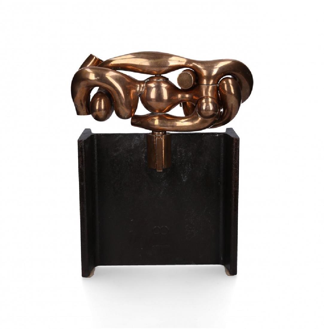 """Miguel Berrocal, """"La maja"""", Bronze sculpture"""