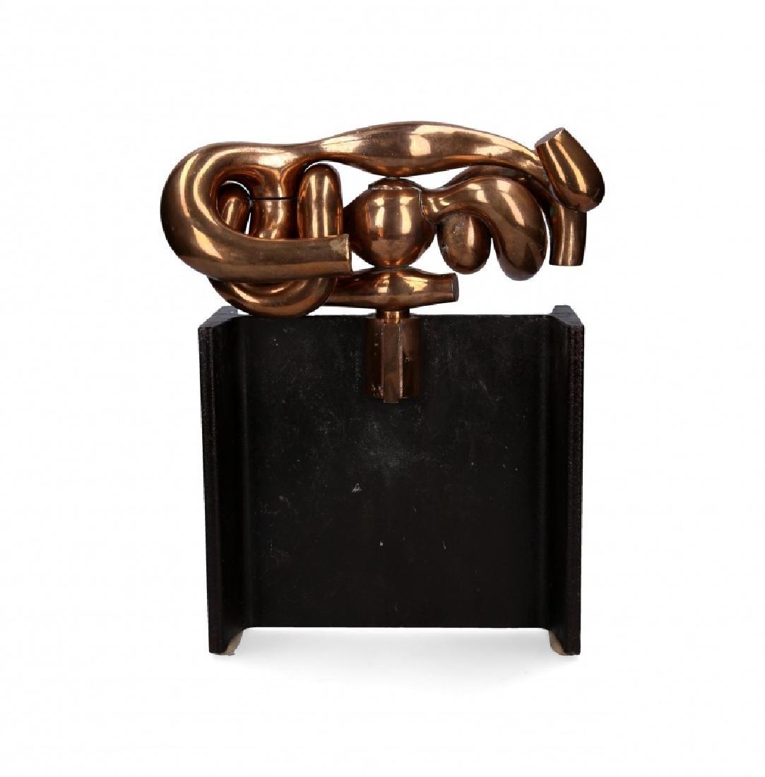 """Miguel Berrocal, """"La maja"""", Bronze sculpture - 2"""