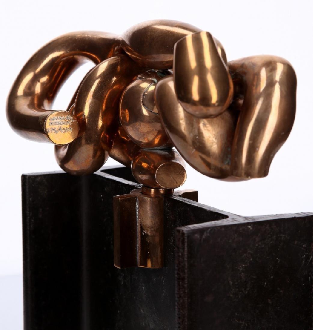 """Miguel Berrocal, """"La maja"""", Bronze sculpture - 3"""