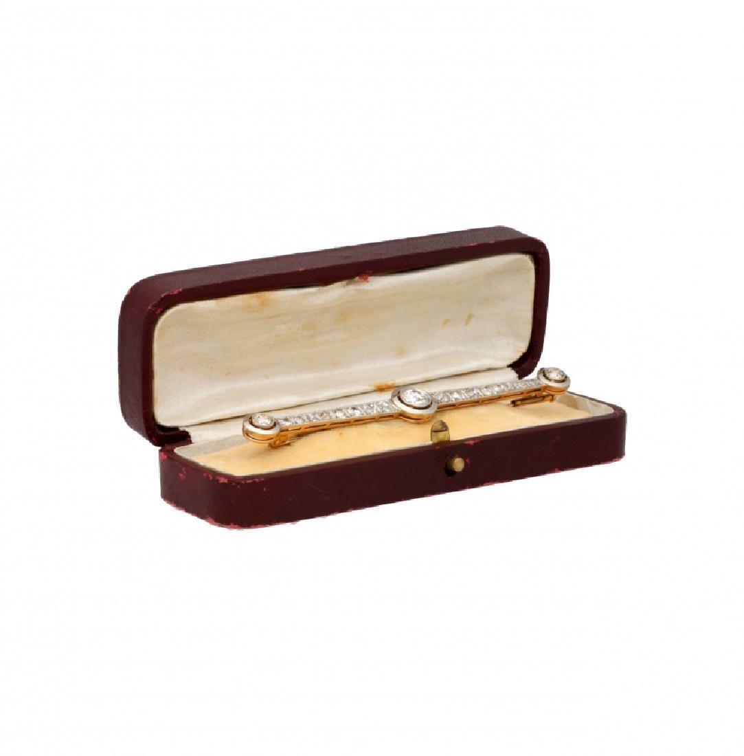 Diamonds brooch, early 20th Century - 2