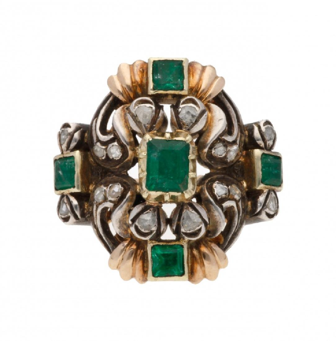 Bracelet, brooch and ring set, mid 20th Century - 2
