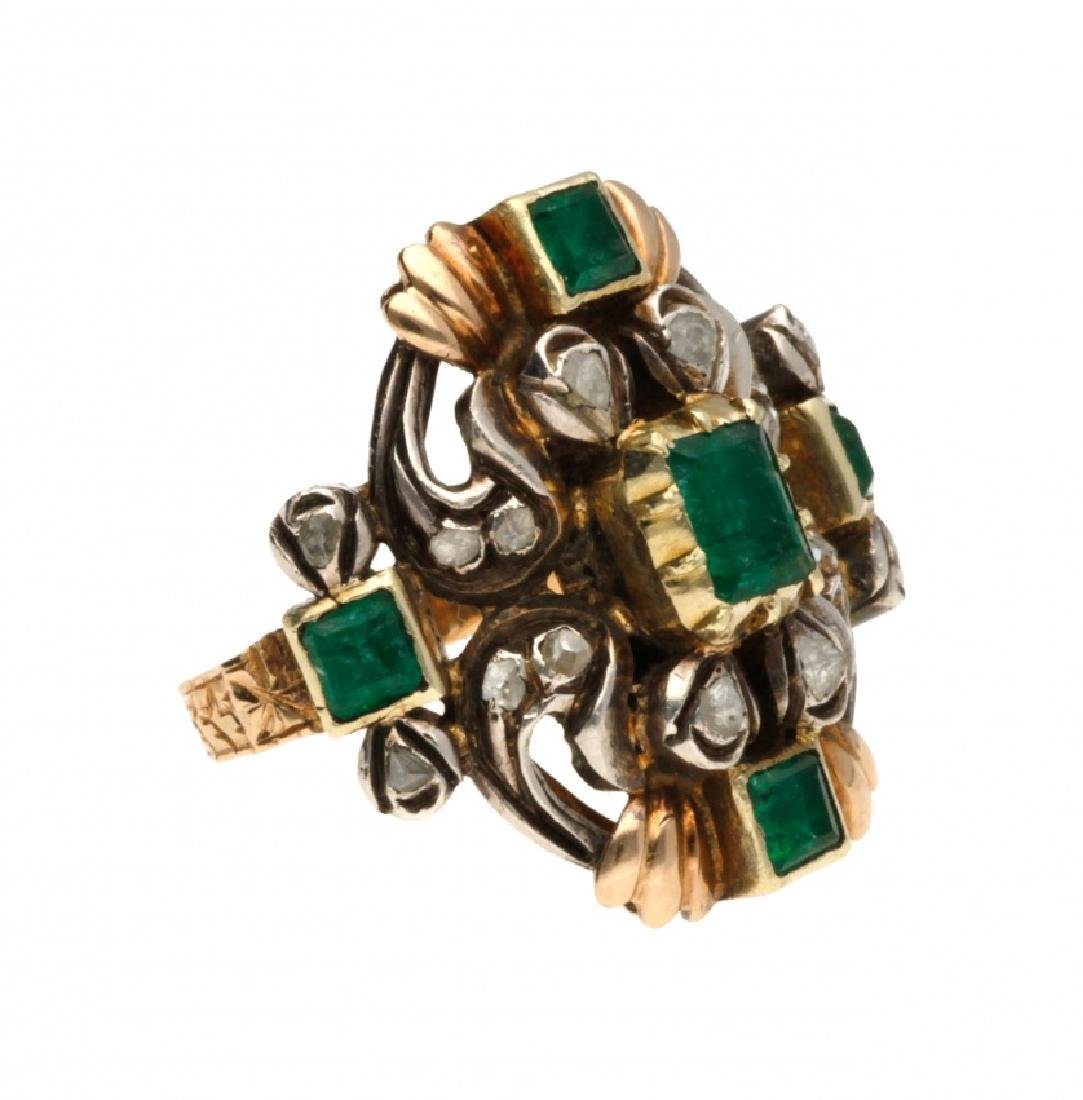 Bracelet, brooch and ring set, mid 20th Century - 3