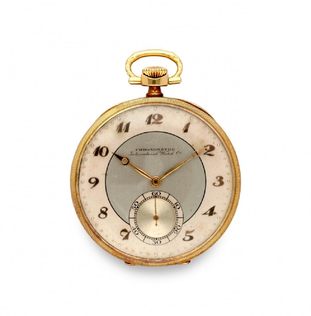 International Watch Co, Chronometre, Pocket watch,
