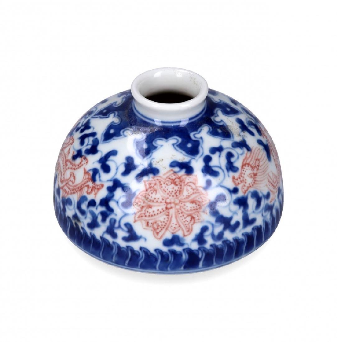 Chinese porcelain vase, late 19th - early 20th Century