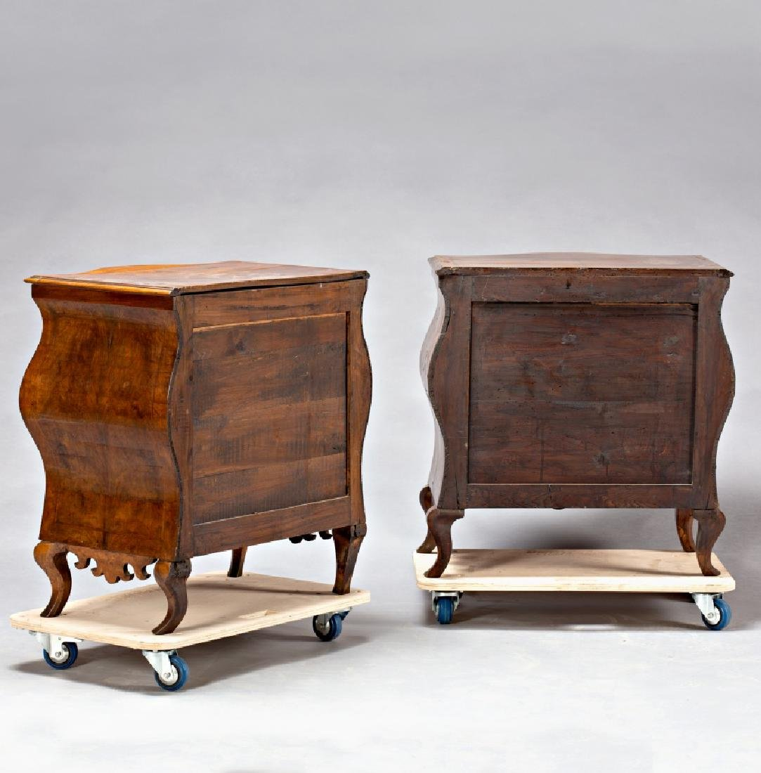"""Pair of Louis XV """"bombé†chest of drawers in - 2"""