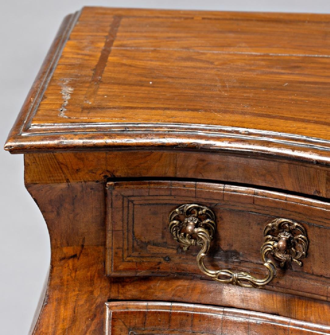 """Pair of Louis XV """"bombé†chest of drawers in - 3"""
