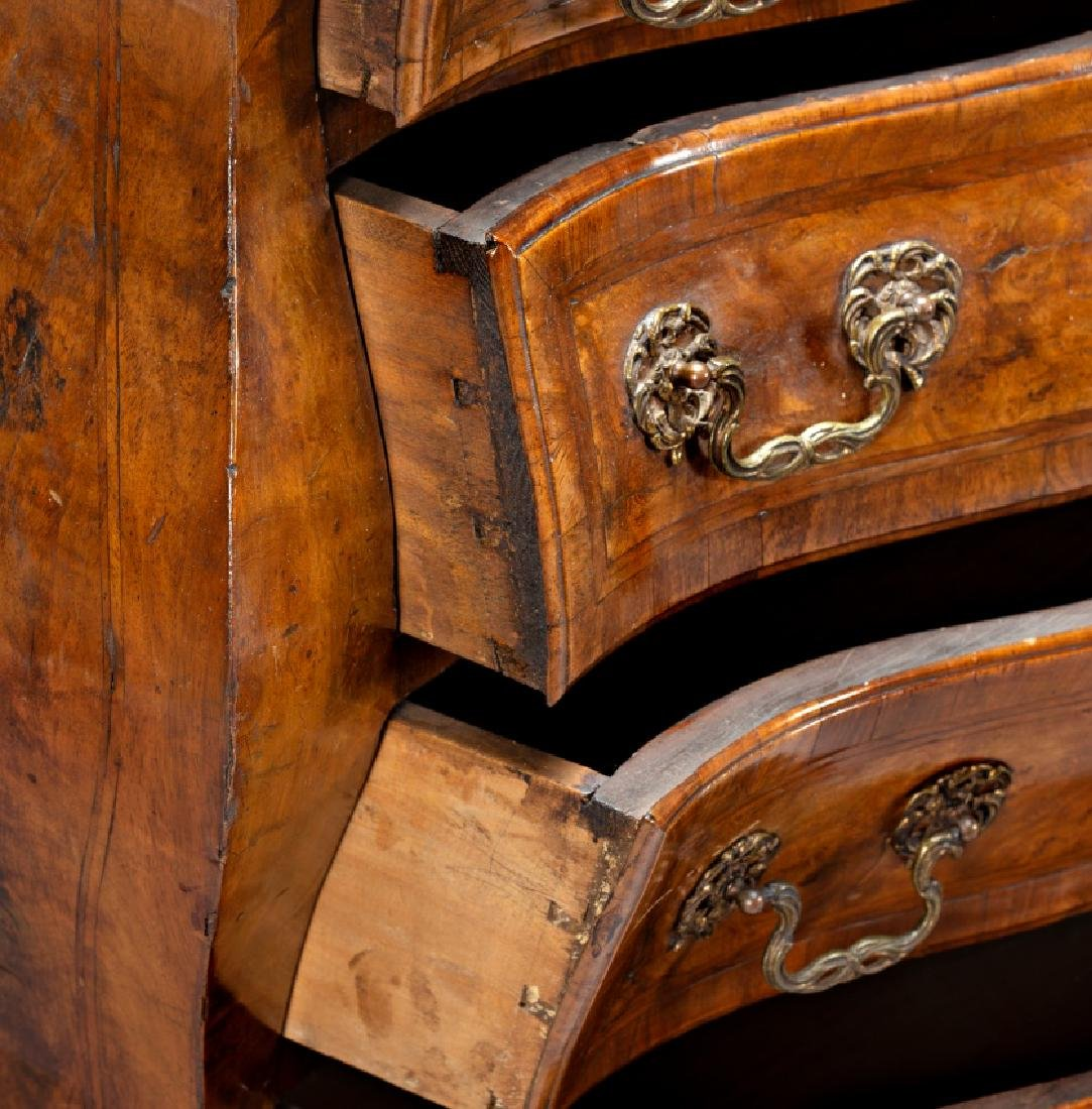 """Pair of Louis XV """"bombé†chest of drawers in - 4"""