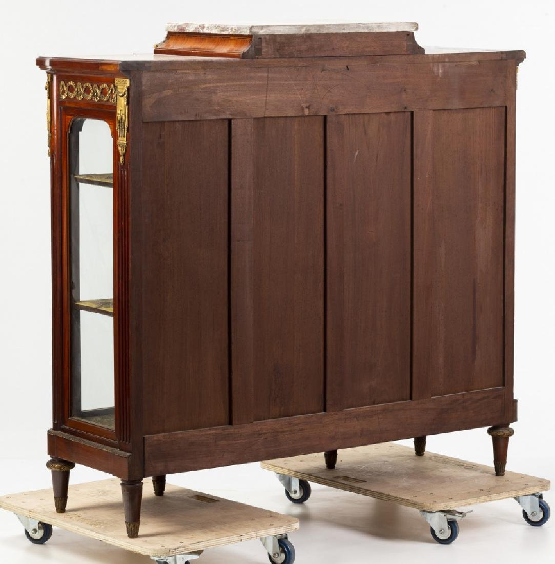 Louis XVI style sideboard  in mahogany with fine wood - 3