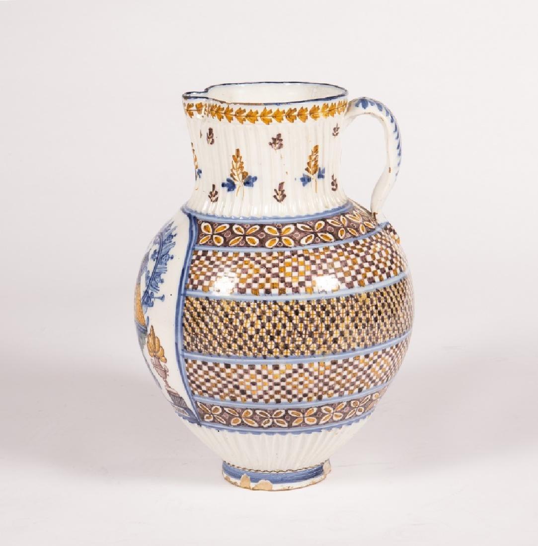 Large jug in Talavera earthenware, 19th Century - 2