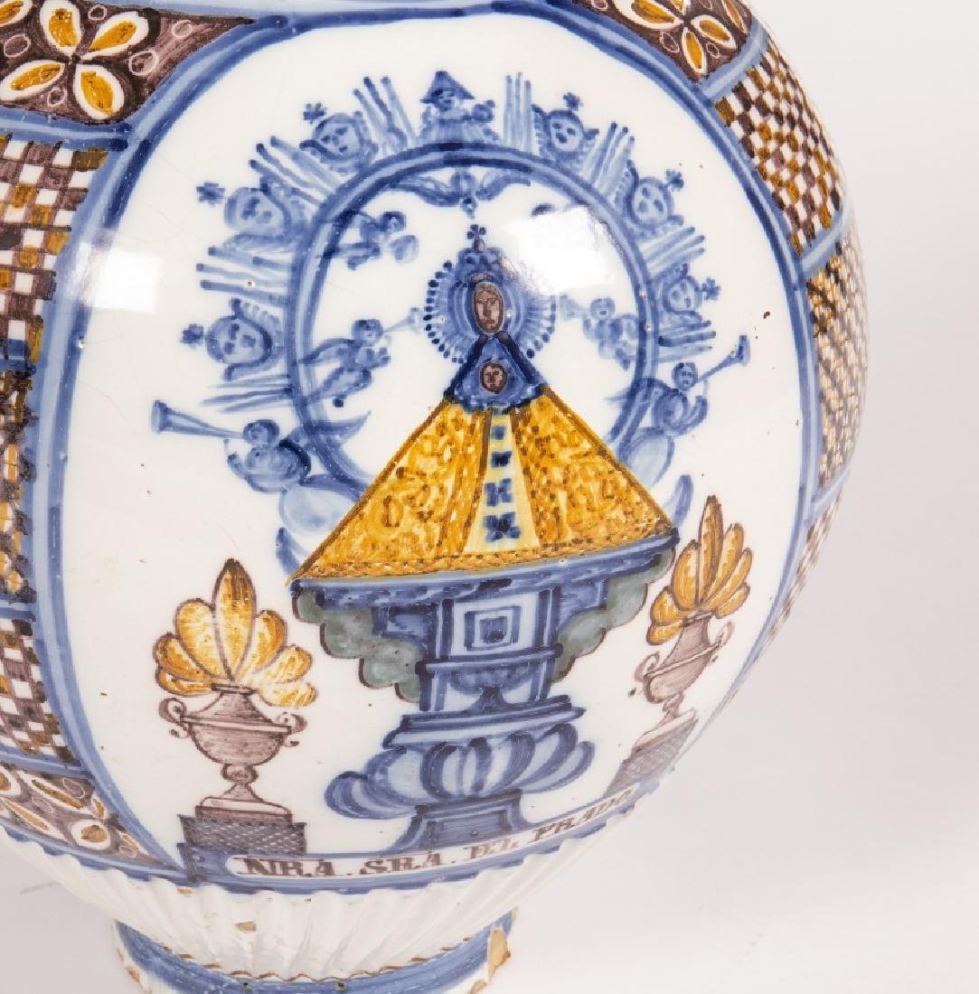 Large jug in Talavera earthenware, 19th Century - 4