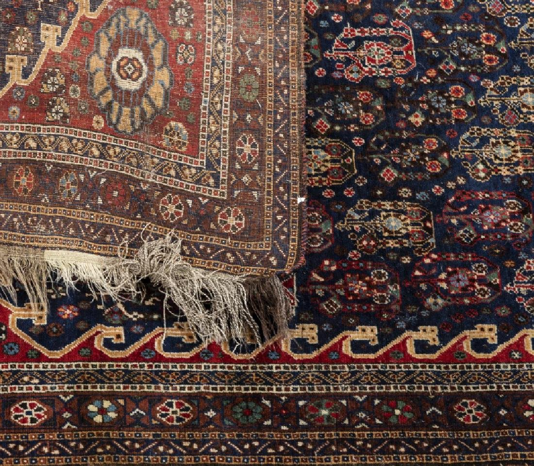 Three Oriental wool and silk carpets and one Oriental - 5