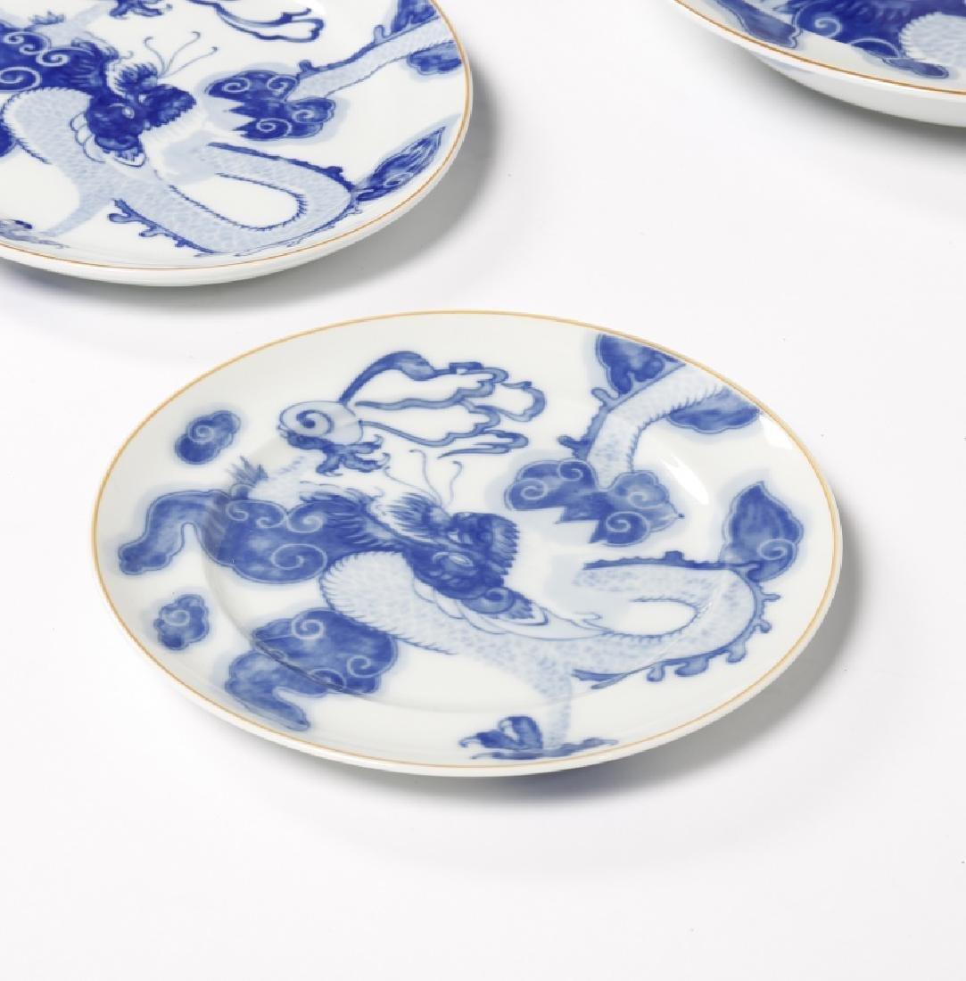 """Blue Dragon"" tableware of twelve services in Vista - 4"