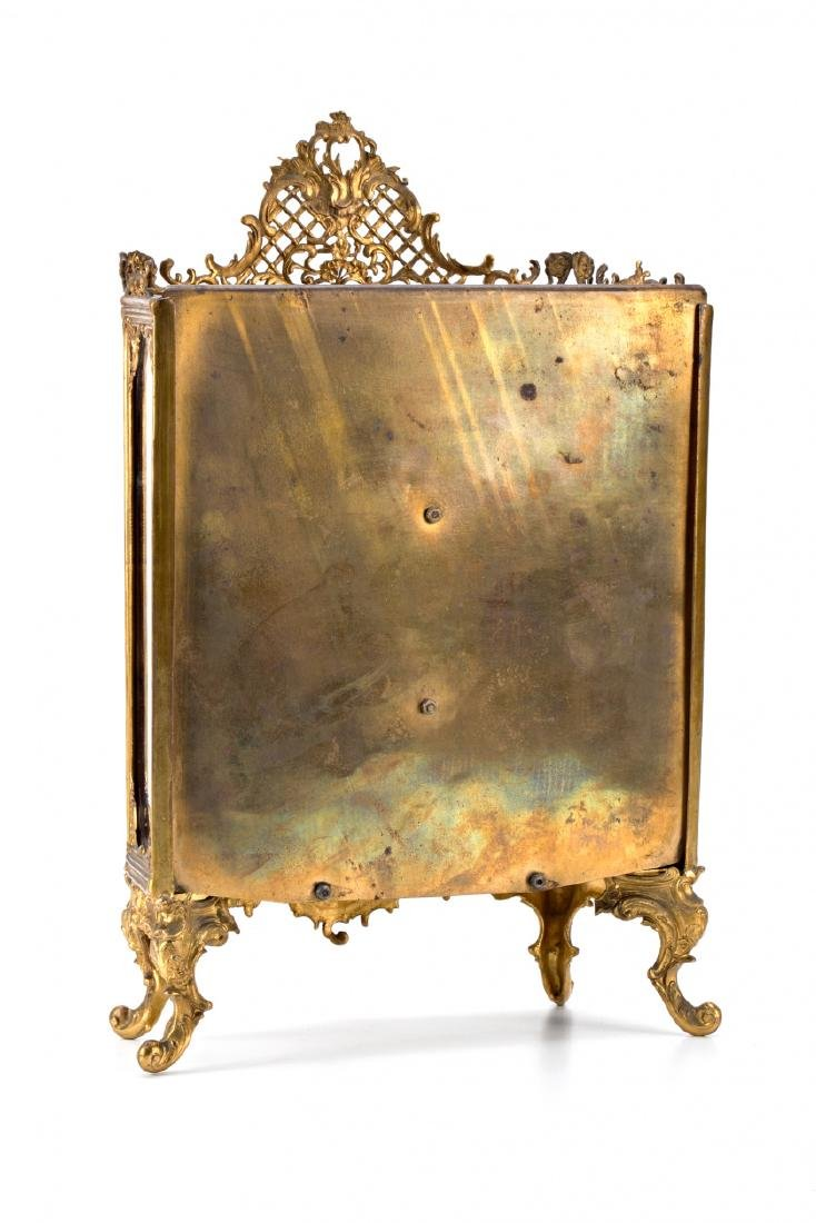 French miniature display cabinet of Rococo sytle in - 2