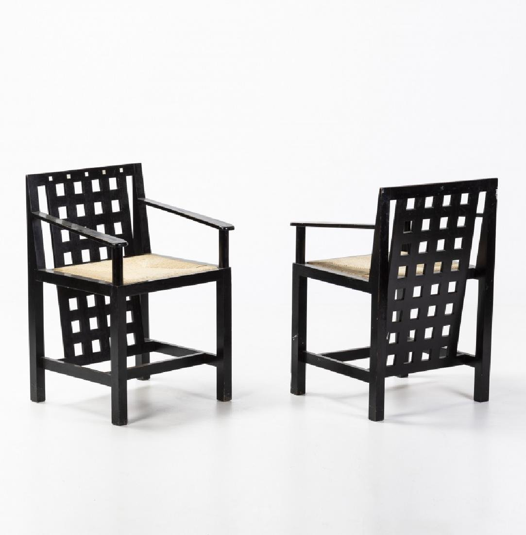 Set of table and two chairs in the style of Charles - 3